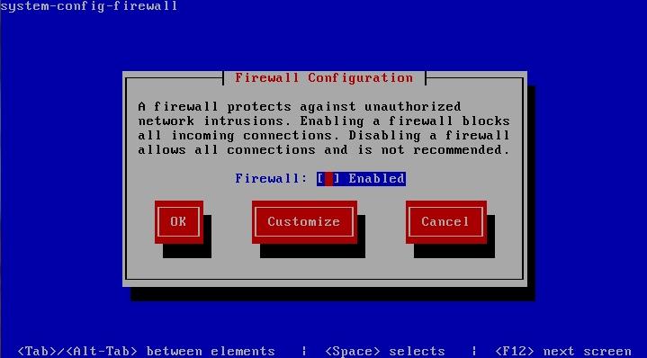 CentOS 6 firewall configuration