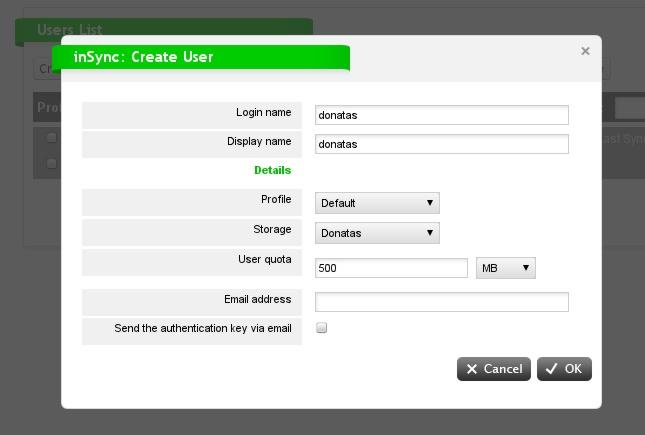 Fedora - Druva User Setup