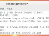 Fedora - Druva inSync Client Uninstall