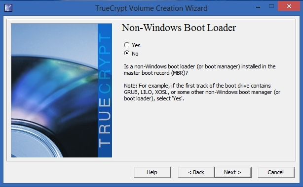 TrueCrypt - Non-Windows Boot Loader