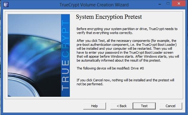 TrueCrypt - Pretest