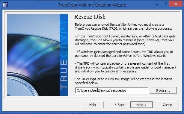 TrueCrypt - Rescue Disk