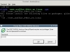 ESET NOD32 4 Antivirus installation on CentOS 6 XFCE desktop -  Terminal