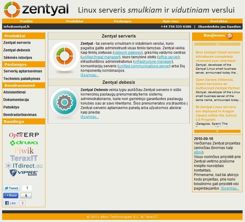 Zentyal - Linux server for You