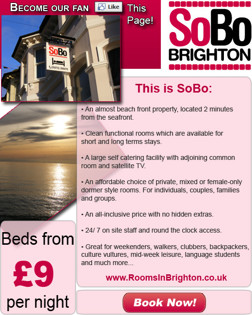 Picture for SoBo Brighton Facebook Welcome page