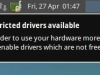 Xubuntu Proprietary Drivers Warning