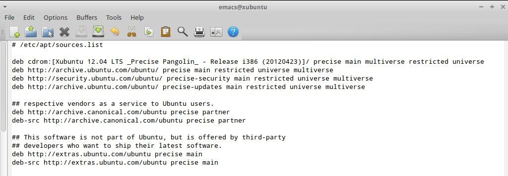 Xubuntu Repositories